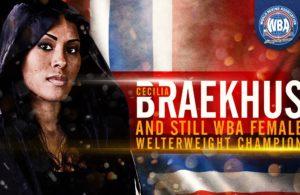 Braekhus stops Lauren to retain WBA title.