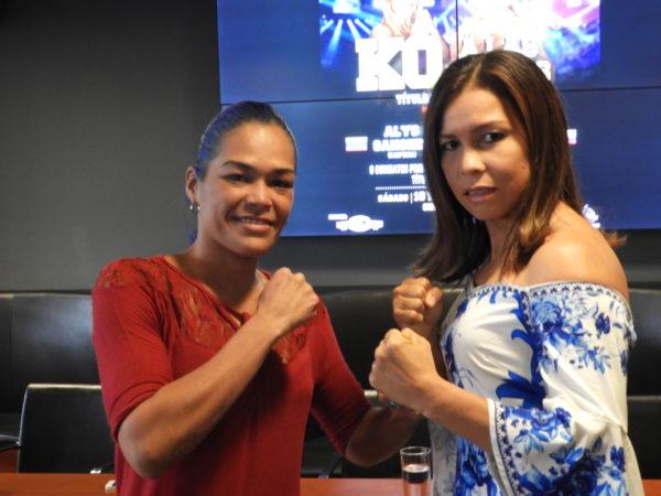 Sánchez and Palmera face to face in El Salvador.