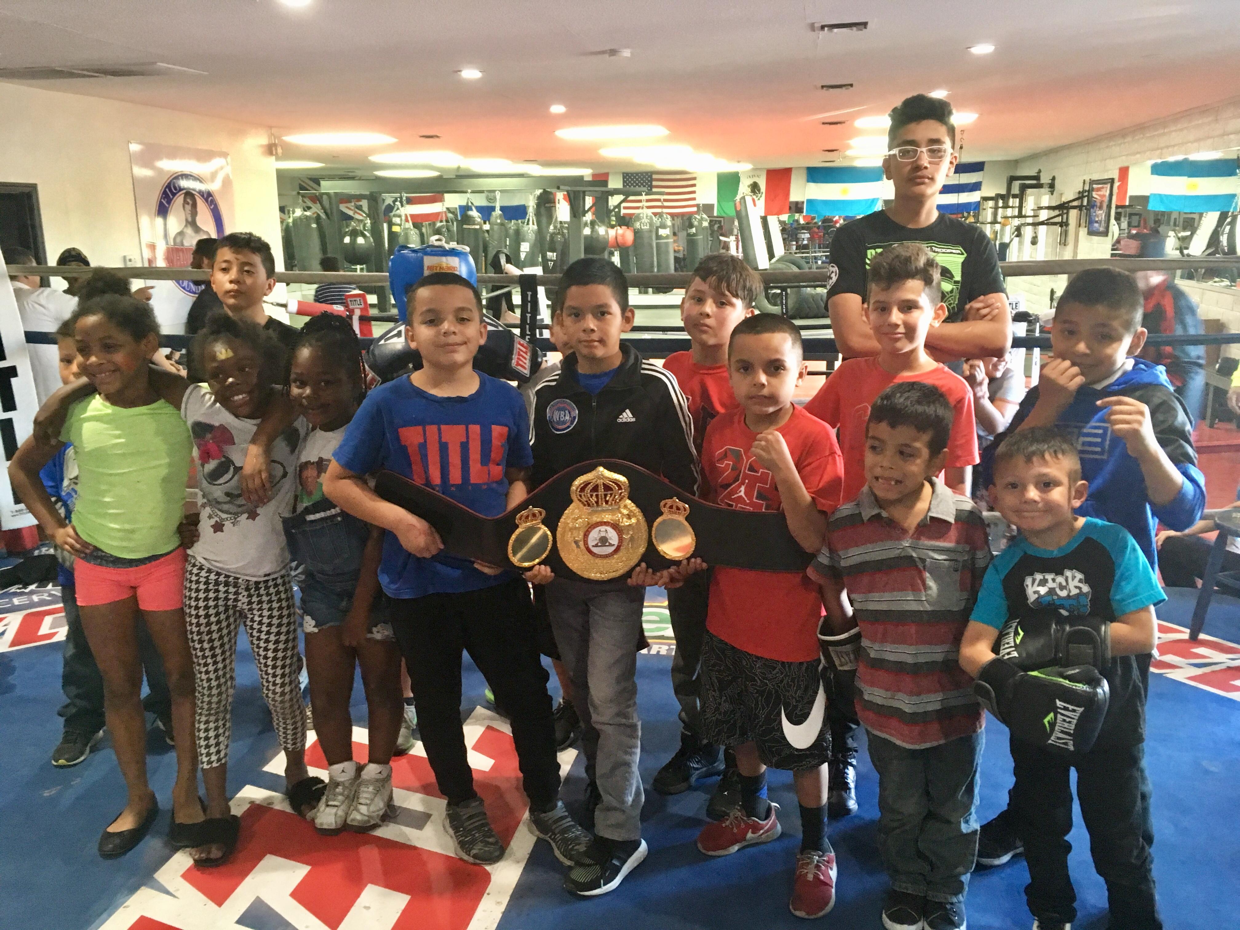 WBA Sponsors Fernando Vargas Foundation