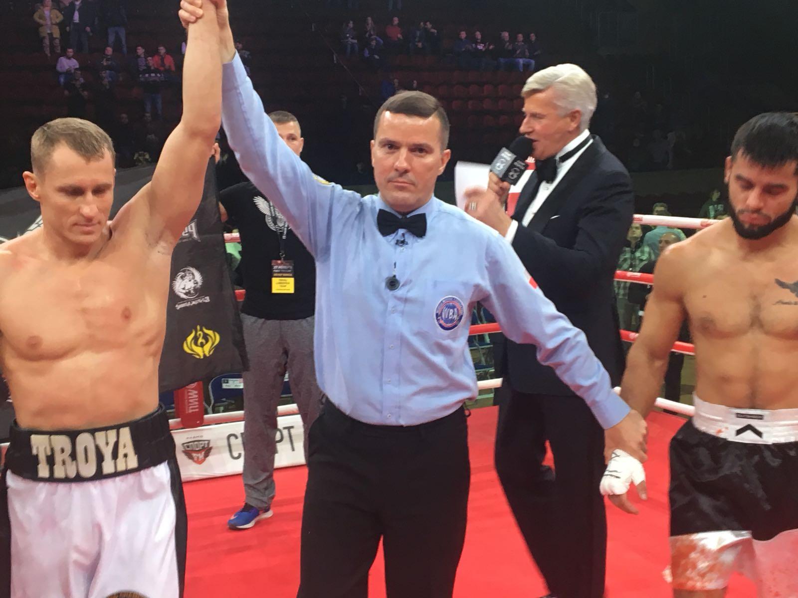 Troyanovsky beats Portillo in elimination bout