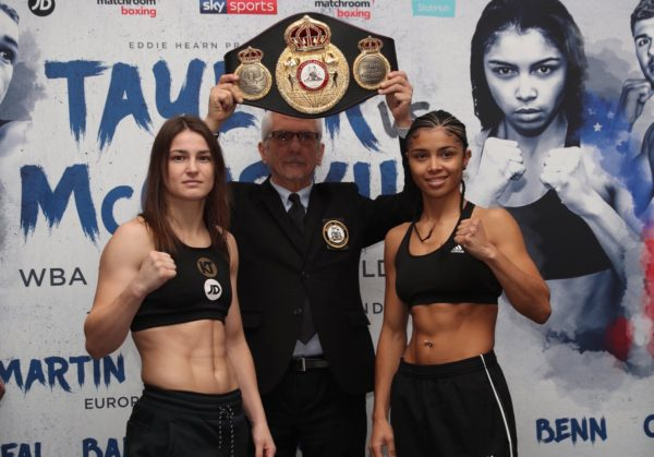 Taylor and McCaskill make weight