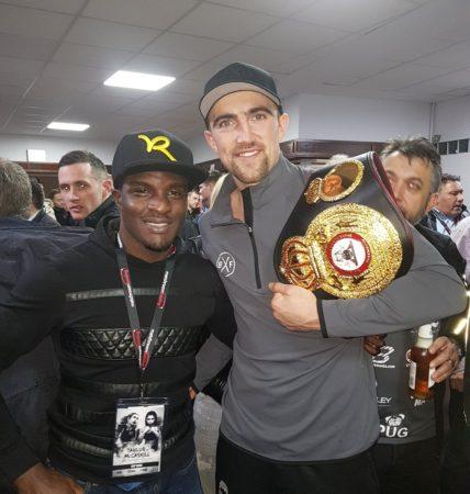 Ball optione el cinturón WBA-Intercontinental