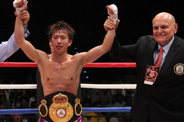 Ryoichi Taguchi - Boxer of the month December-2017
