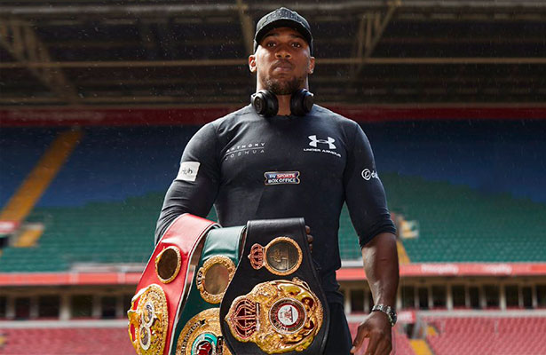 Anthony Joshua – Boxer of the month November-2017