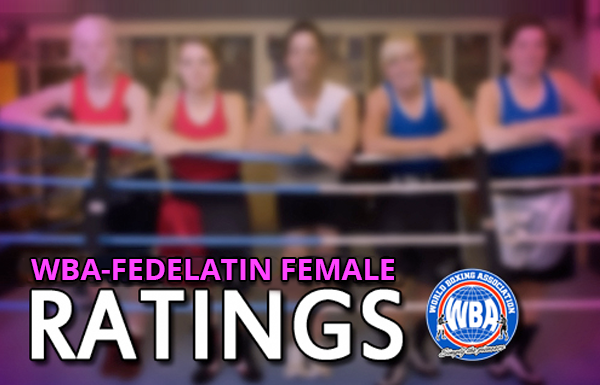 WBA-FEDELATIN Female Ratings January 2019