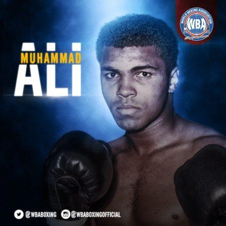 Cumpleaños 76 del gran Muhammad Alí.