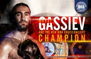Murat Gassiev WBA Cruiserweight World Champion