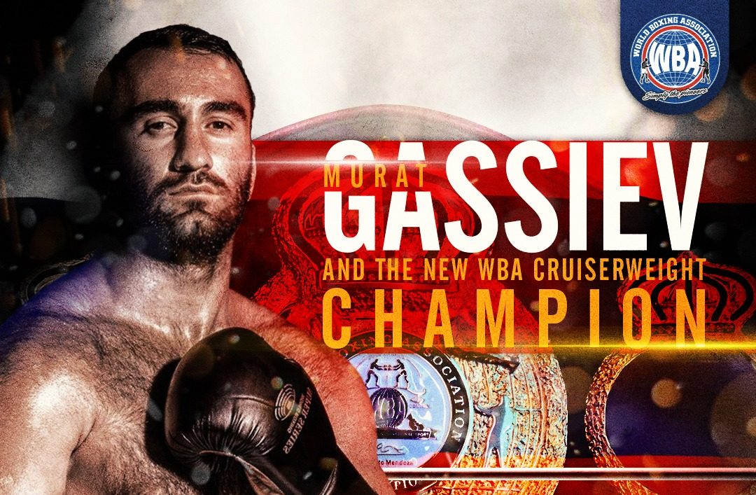 Gassiev knocked out Dorticos and is the new WBA Cruiserweight Champion