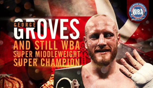 Groves retained his WBA Super Championship against Eubank