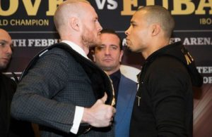 Groves and Eubank Jr. held last press conference. Photo: World Boxing Super Series.
