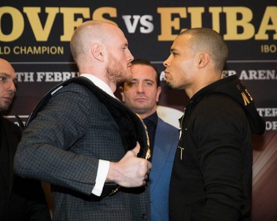 Groves and Eubank Jr. held last press conference