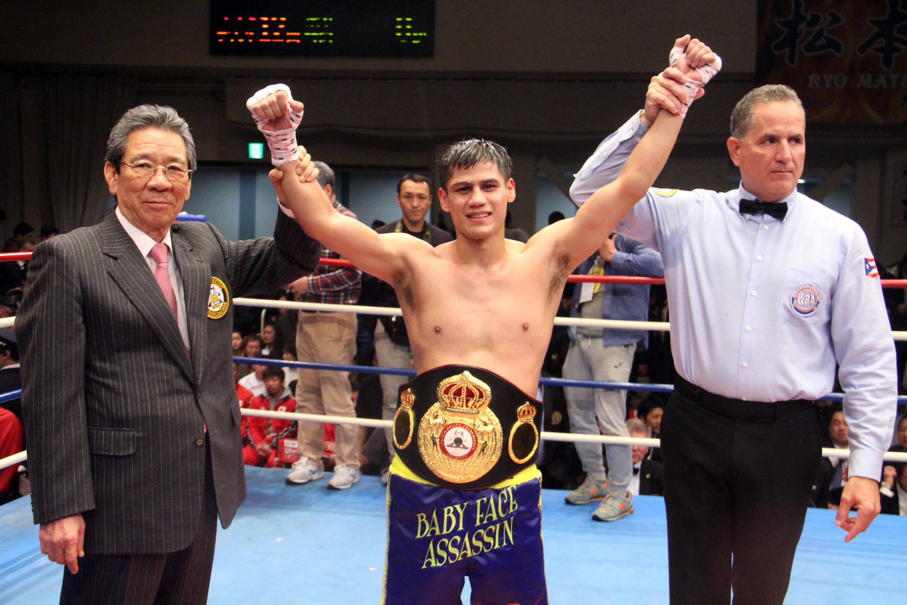 Roman retained WBA Super Bantamweight title in Japan