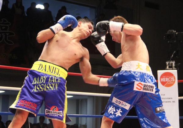 Román mantuvo título Supergallo WBA en Japón. Foto: Sumio Yamada.