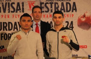 Viloria and Dalakian held last press conference in California.