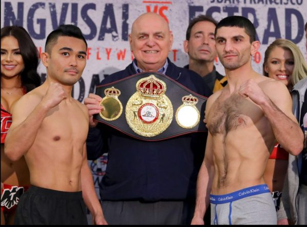 Dalakian and Viloria make weight to fight for the WBA title