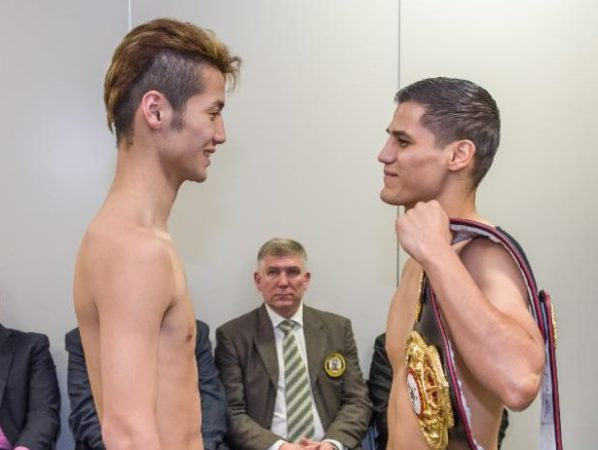 Roman and Matsumoto ready to fight for the WBA Super Bantamweight belt this Wednesday.