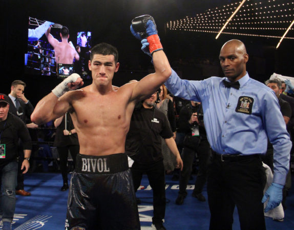 Bivol knocked out Barrera and retained his crown.