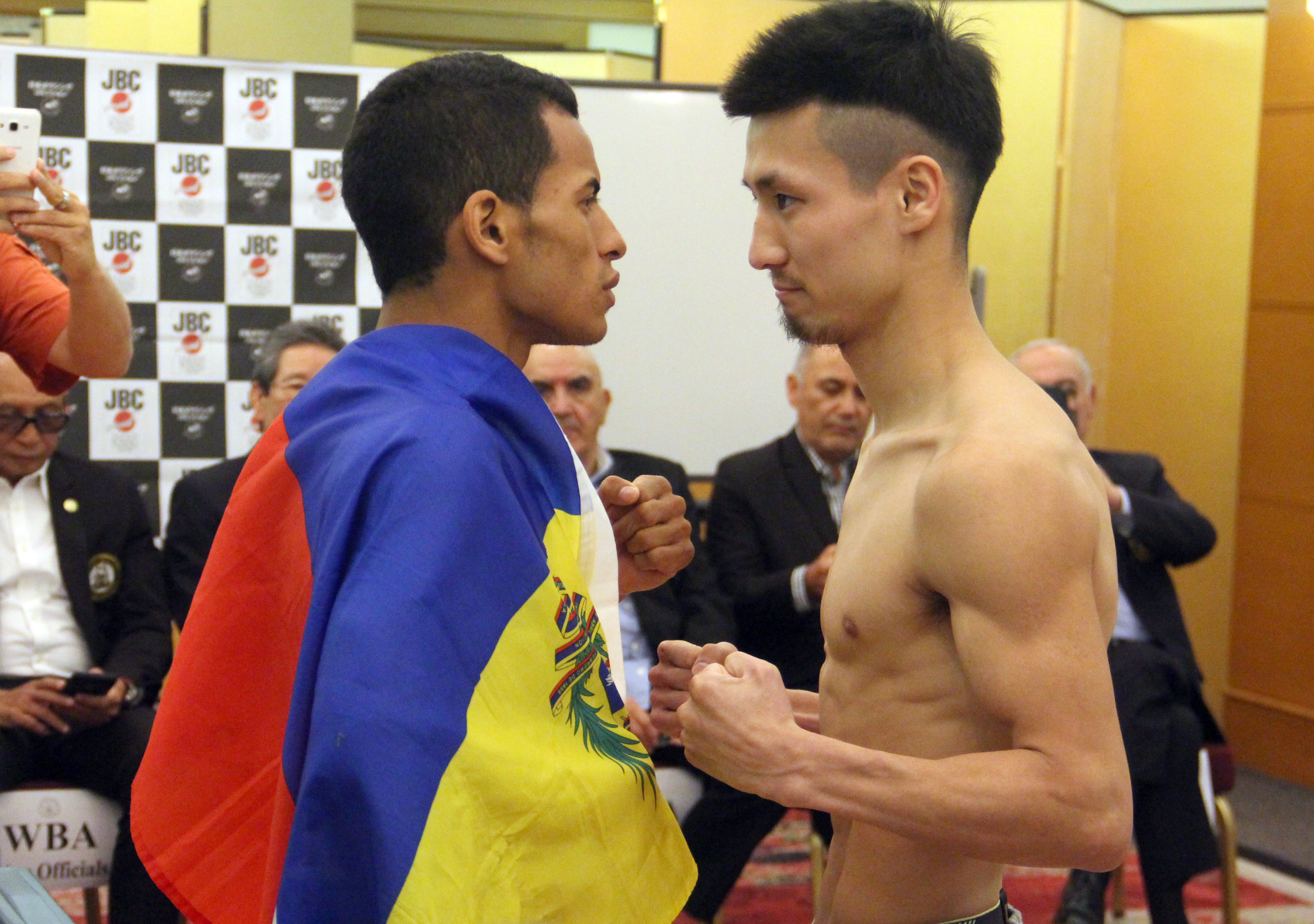 Konishi and Cañizales made weight