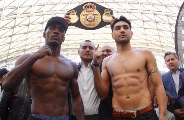 Michel Soro and John Vera make weight for WBA Elimination Fight