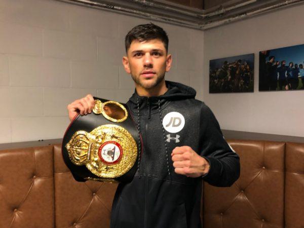 Joe Cordina WBA-International champion.