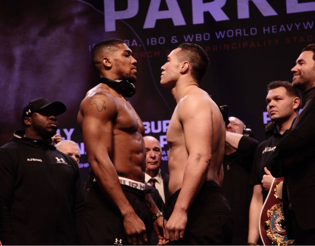 Joshua and Parker ready to shake Cardiff