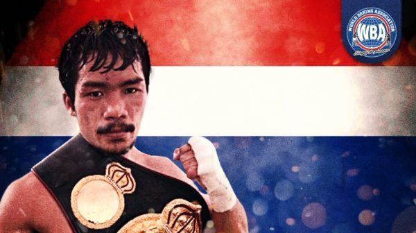 Niyomtrong retained his WBA belt against Landero
