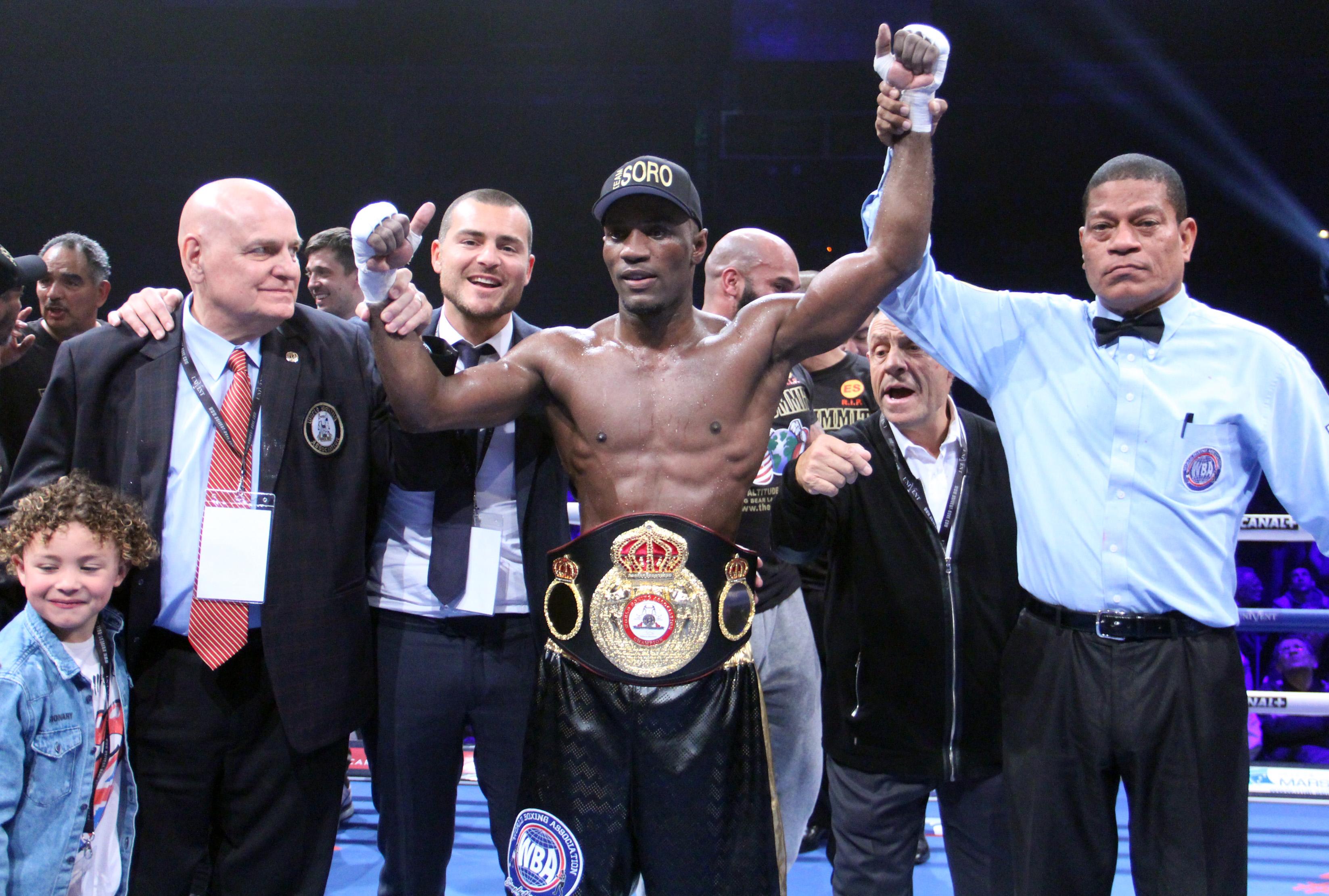 Soro dominated Vera in WBA Elimination Fight