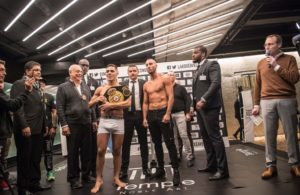 Castaño defends Super Welterweight belt before Vitu in France.