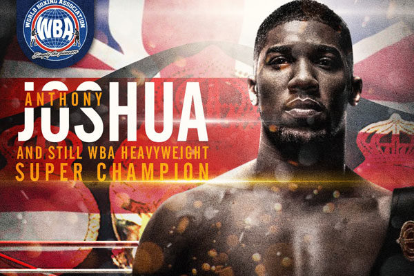 Anthony Joshua - Boxer of the month March-2018