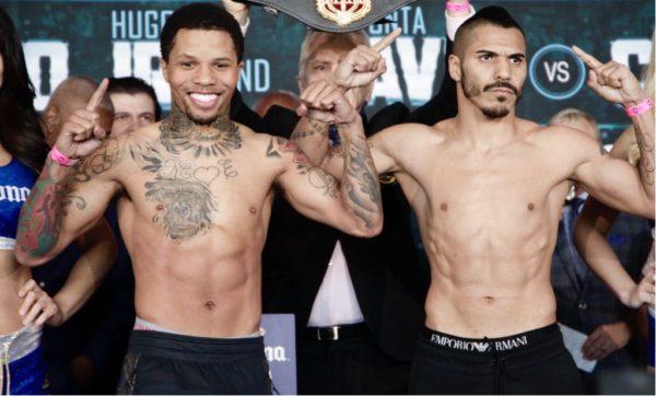 Davis and Cuellar Make Weight