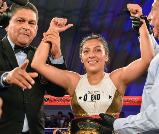 Plata Wins Interim Title From Torres