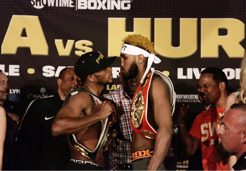 Erislandy Lara and Jarrett Hurd Make Weight