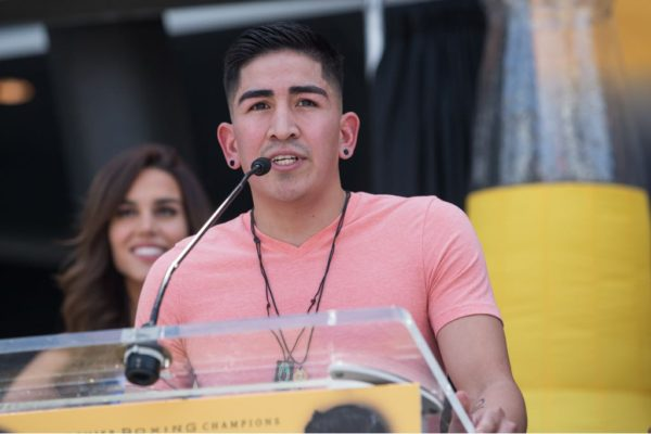 Leo Santa Cruz. Foto: Showtime.