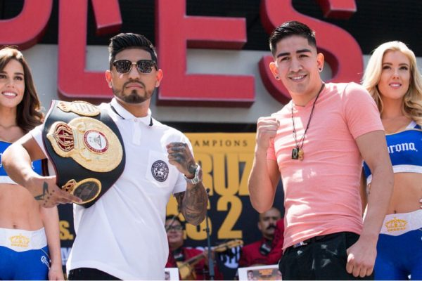 Santa Cruz and Mares Kick Off Their Press Tour. Photo: Showtime.