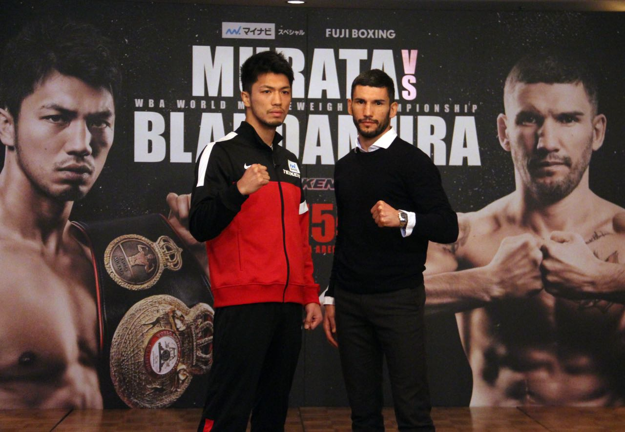 Murata and Blandamura Hold Final Presser