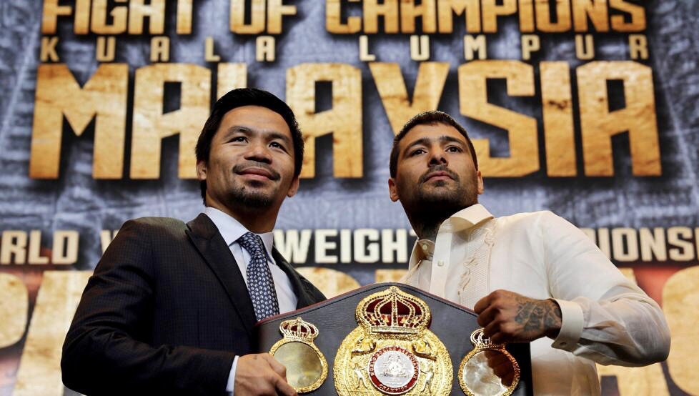 Matthysse and Pacquiao Hold Manila Press Conference