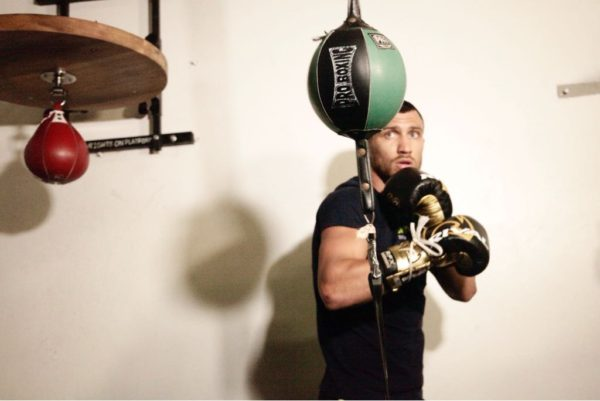 Lomachenko Media Workout Interview. Photo: Marcelino Castillo.