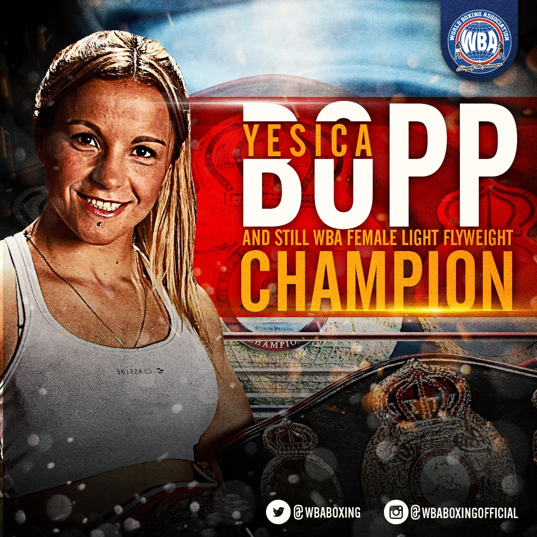 "Yesica ""Tuti"" Bopp Wins Her 21st Title Defense"