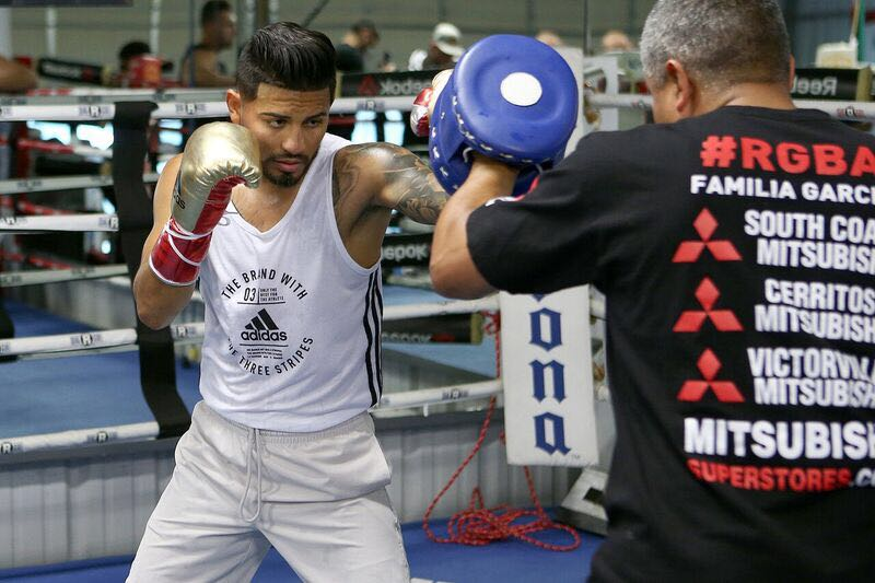 Abner Mares: This time the story will be different. Photo: Marcelino Castillo.