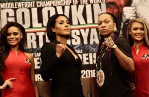 Braekhus y Reis esperan poner al boxeo femenino en alto.