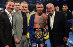 Lomachenko Stops Linares In His Toughest Test To Date. Photo: Sumio Yamada.