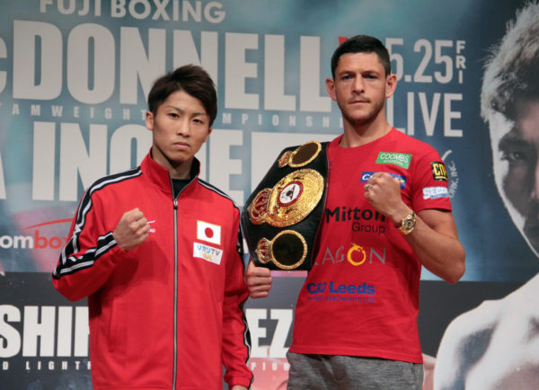 McDonnell and Inoue Hold Final Press Conference.