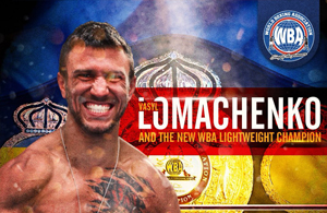 Vasyl Lomachenko - Boxer of the month - May 2018