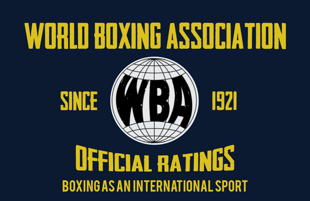 WBA July Rankings and Boxer of the Month
