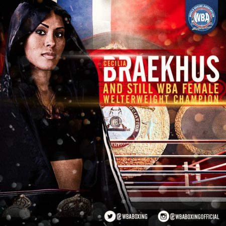 Braekhus earns female boxer of the month  honors