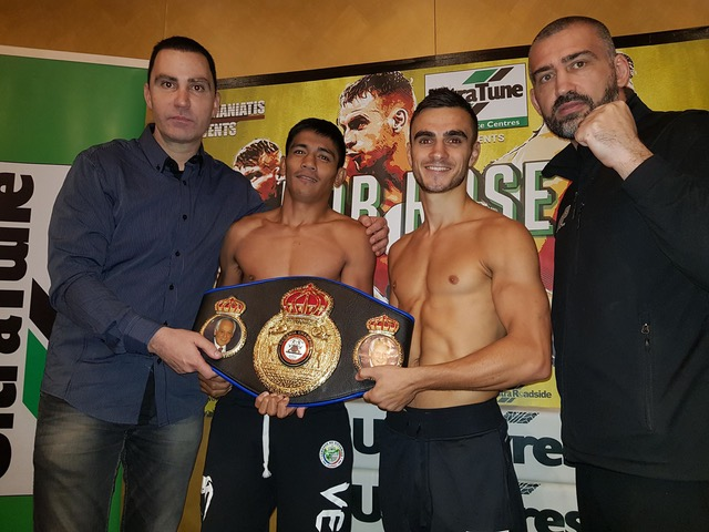 Moloney Brothers Make Weight For Title Defenses