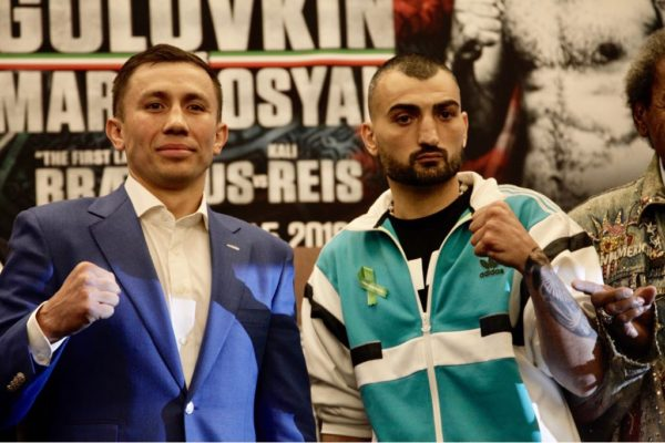 GGG and Martirosyan Hold Final Press Conference