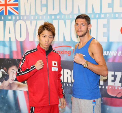 McDonnell Ready For Big Showdown Against Inoue