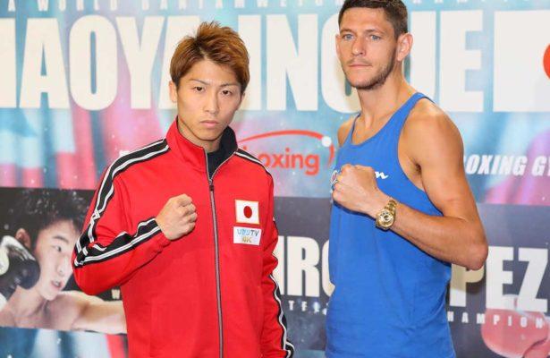 McDonnell e Inoue superaron las pruebas médicas.