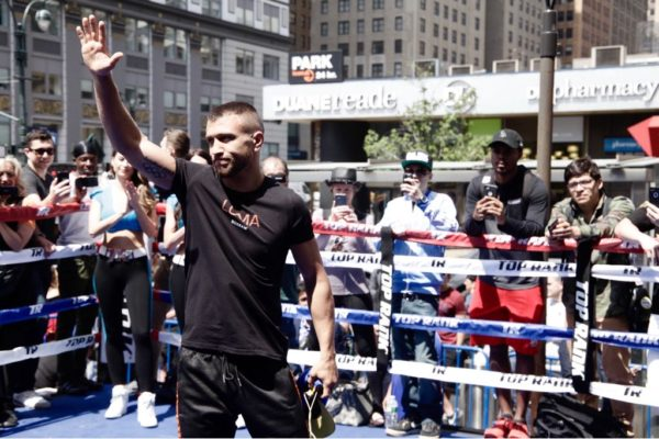 Vasyl Lomachenko: the man of the moment